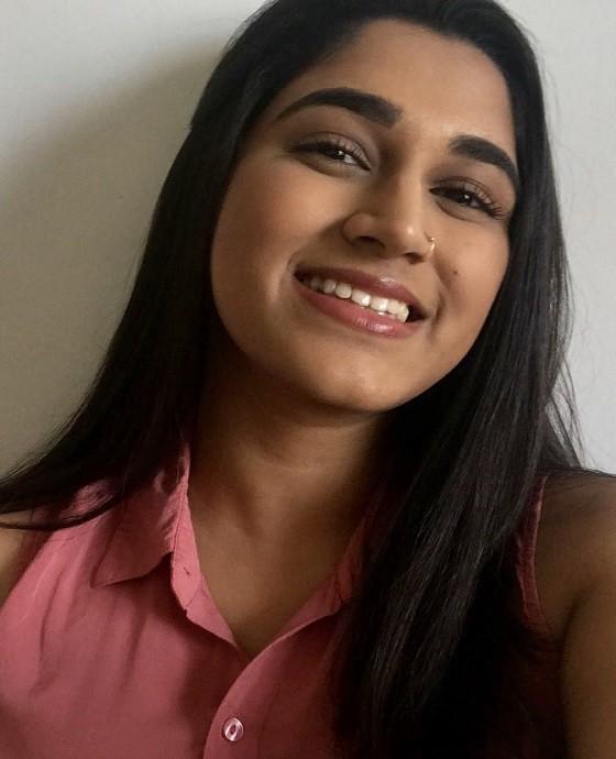 photo of Sanjana Chandrasekharan